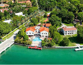 Waterfront Mansion For Sale on Star Island - Miami Beach - $17,990,000