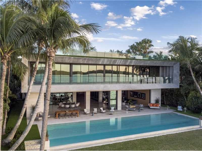 New Ultimate Mansion with 17,000 sq ft of living area - Bal Harbour - Miami Beach - $36,000,000