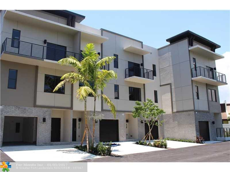 New Townhouse in KOI Residences and Marina in Pompano Beach - $ 469,000