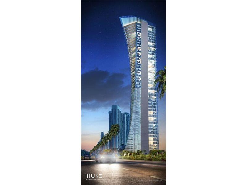 Muse Residences Entire Floor Penthouse For Sale - Sunny Isles Beach $22,000,000