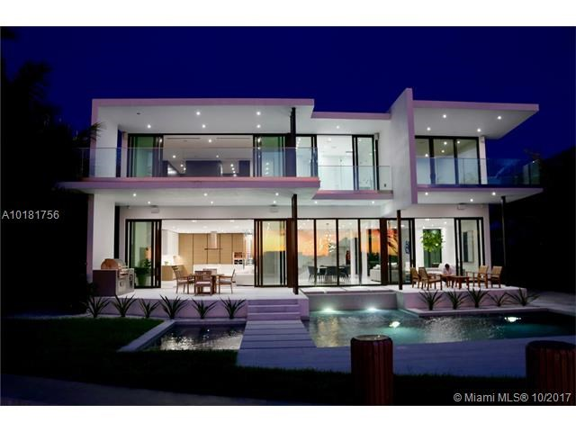 New Luxury Waterfront Mansion For Sale In Miami Beach - $6,950,000