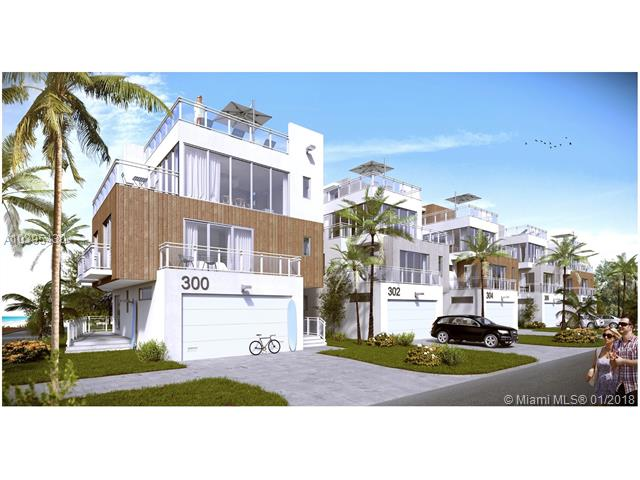 New Home by the beach in Hollywood Beach - $2,000,000