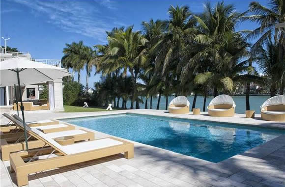 Waterfront Mansion on La Gorce Island - Must See!- $15,500,000