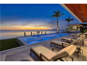 Waterfront Luxury Villa for sale on North View Drive - Miami Beach $10,900,000