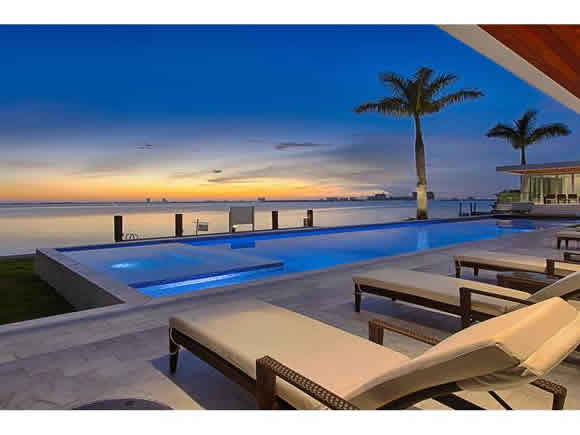 Waterfront Luxury Villa for sale on North View Drive - Miami Beach- $10,900,000