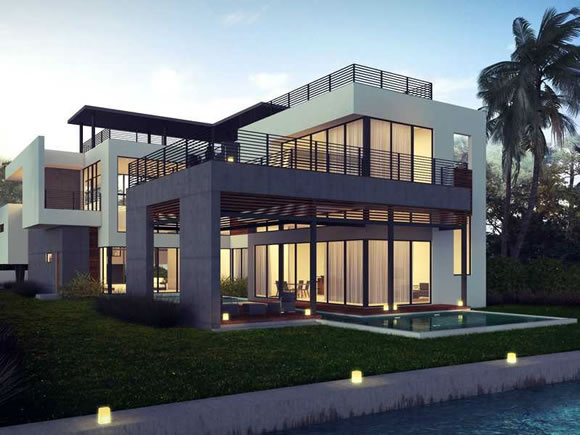 Luxury homes for sale in miami beach for sale for Modern house auction