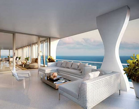 Luxury Beachfront Penthouse Apartment for sale in Jade Signature - Sunny Isles - Miami Beach $13,010,000
