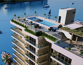 Harbour Park Luxury Waterfront - in construction